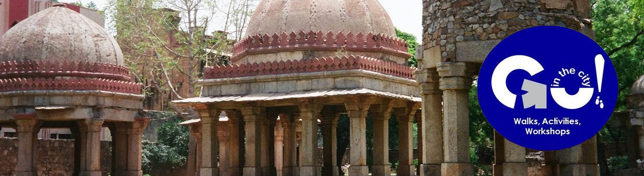 A Custom Walk - The Tughlaq Legacy Hauz Khas Rediscovered in Deer Park, Hauz Khas: Delhi