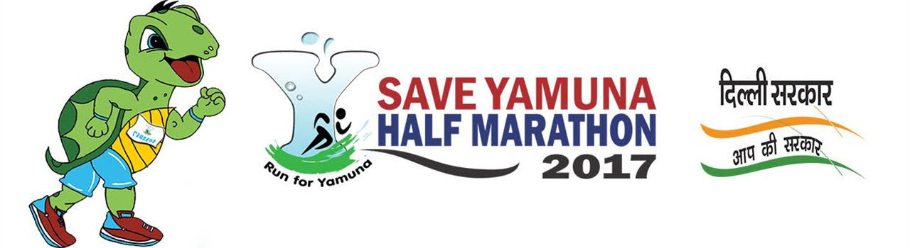 ''Save Yamuna Half Marathon''  in Sri Yamuna Tirth: Delhi