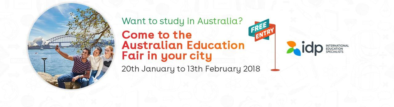 IDP's Australia Education Fair  in The Residency Hotel: Coimbatore