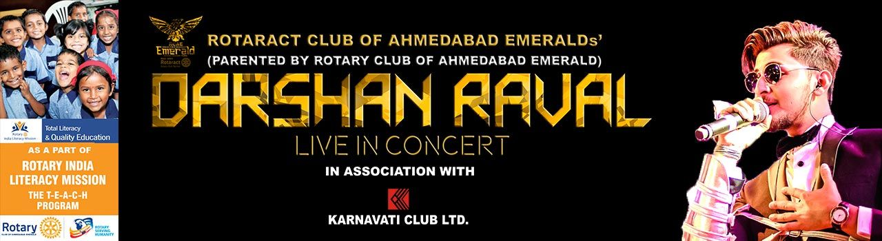 Darshan Raval : Live In Concert  in Kensville Golf Academy: Ahmedabad