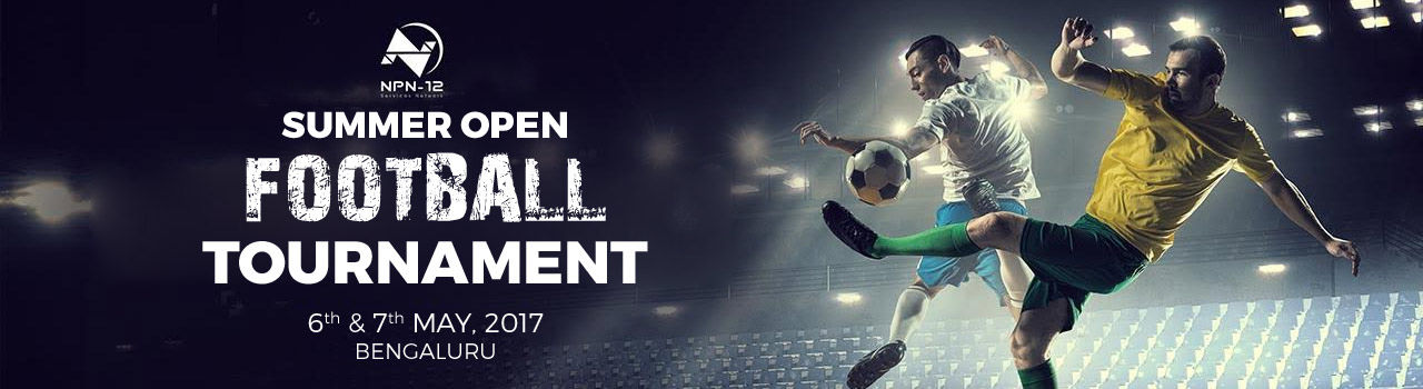 Corporate Football Tournament  in Gopalan Sports Center: Bengaluru