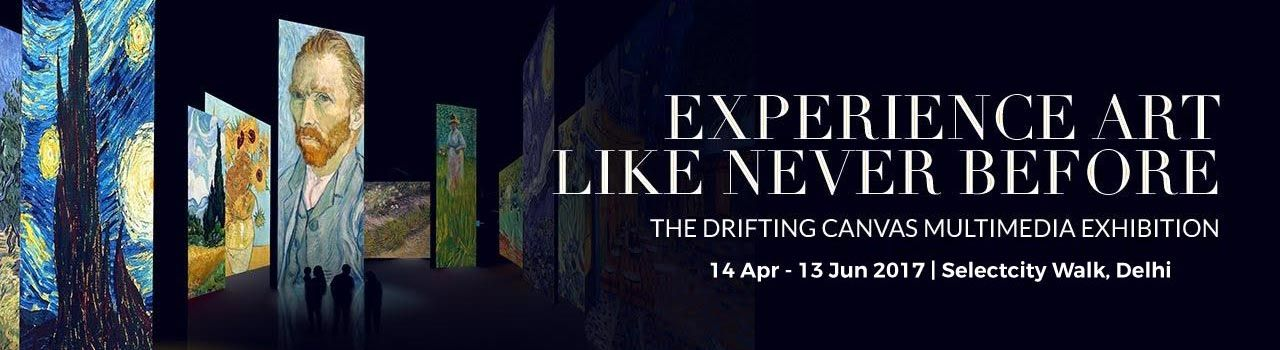 The Drifting Canvas Multimedia Exhibition  in Select Citywalk Mall: Delhi