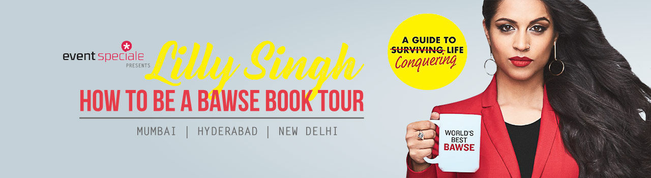 Lilly Singh How To Be A Bawse Book Tour in Sirifort Auditorium: Delhi