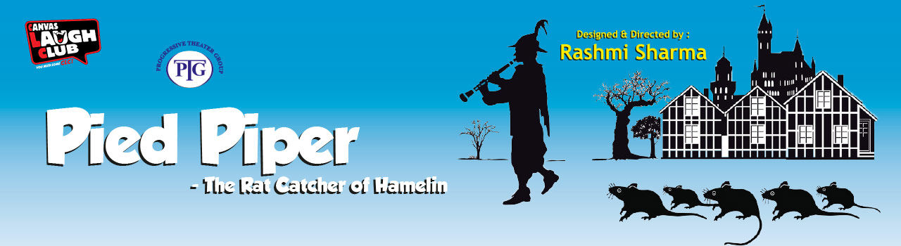 Pied Piper - The Rat Catcher of Hamelin! in Canvas Laugh Club