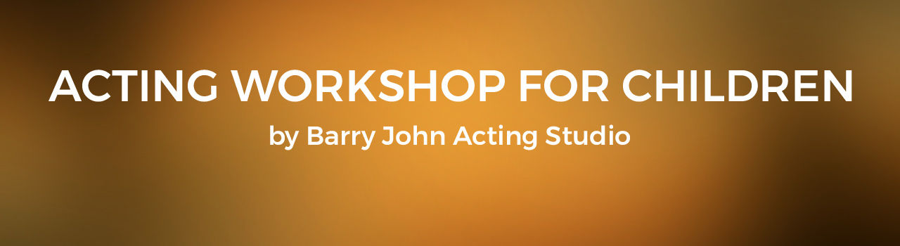 Acting Workshop for Children by Barry John Acting Studio in India Habitat Center: Delhi