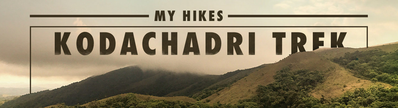 My Hikes - Kodachadri Trek in Silk Board: Bengaluru