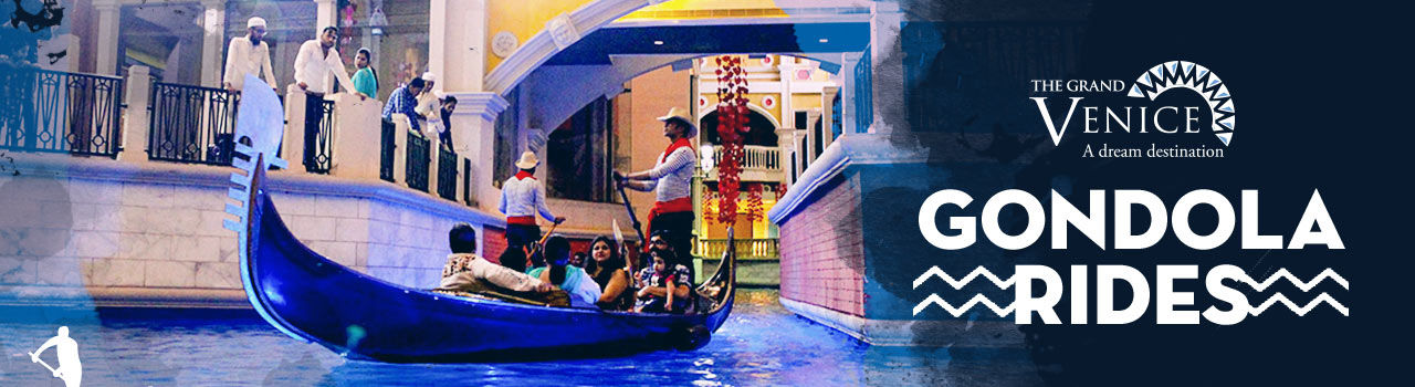 Gondola Rides  in The Grand Venice Mall: Noida