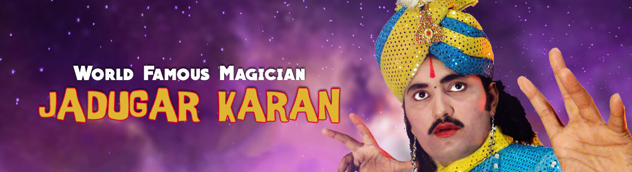 World Famous Magician Jadugar Karan in Town Hall: Anand