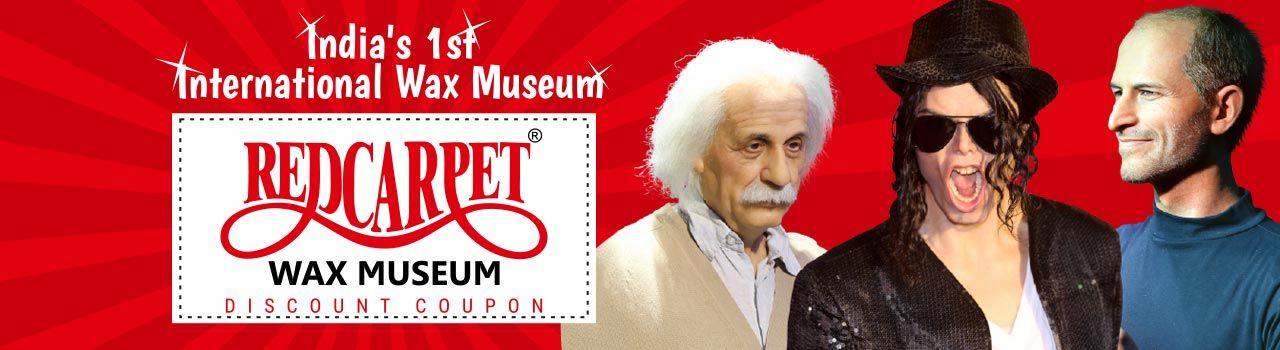 Red Carpet Wax Museum  in R City Mall: Ghatkopar