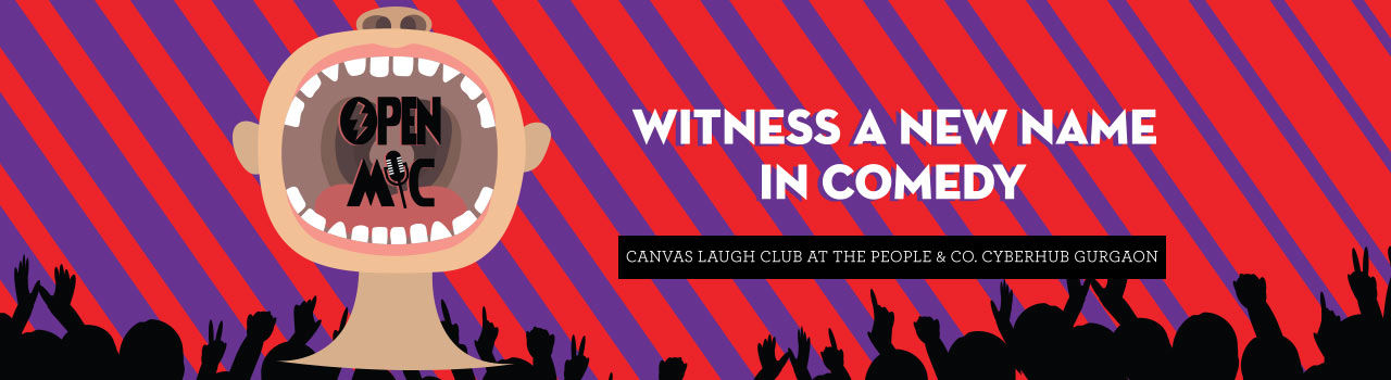 Open Mic @ Canvas Laugh Club at The People & Co. in Canvas Laugh Club at The People & Company