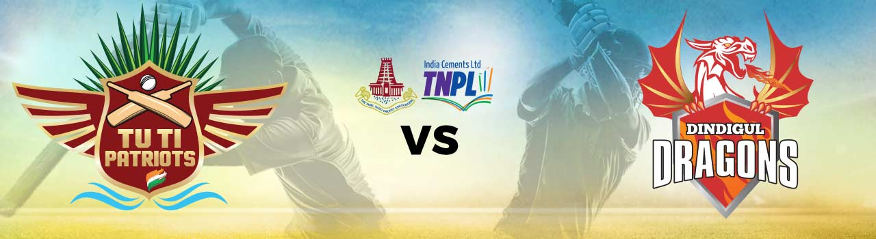 Tamil Nadu Premier League 2017 - Albert Tuti Patriots vs Dindigul Dragons in M.A.Chidambaram Stadium: Chennai