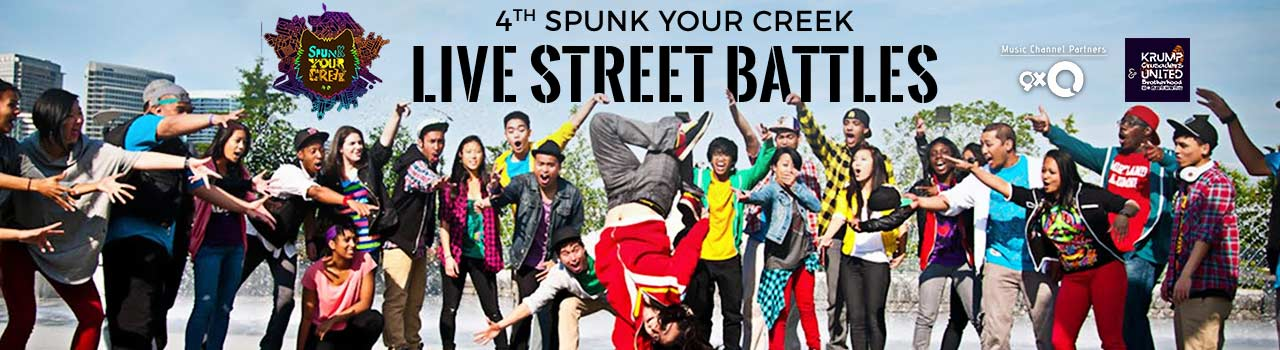 4th Spunk Your Creek - Live Street Battles in UB City, Amphitheatre: Bengaluru