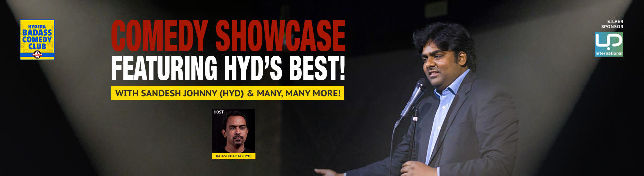 Comedy Showcase Featuring Hyderabad's Best! (HYD) in Hyderabadass Comedy Club: Hyderabad