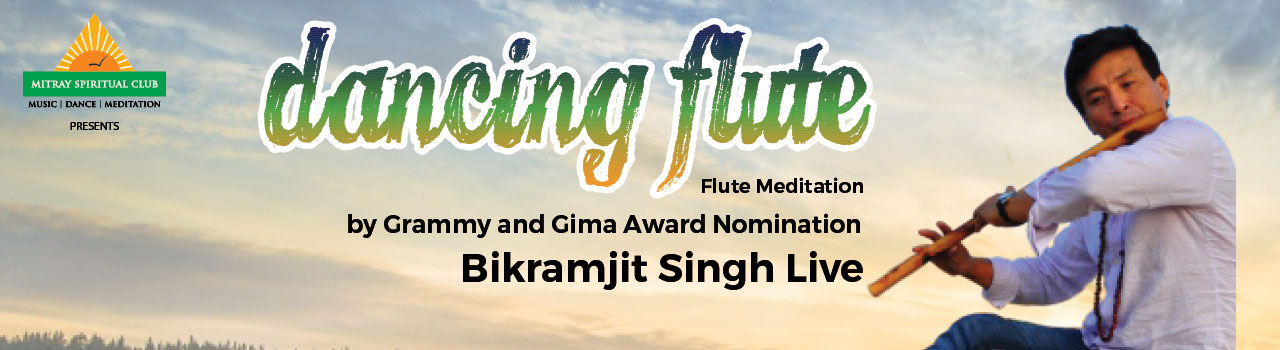 Dancing Flute by Bikramjit Singh Live! in Gujarat University Convention & Exhibition Centre