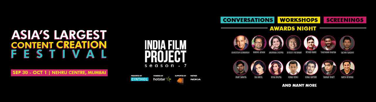 India Film Project in Nehru Centre: Mumbai