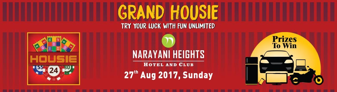 Grand Housie in Narayani Heights: Ahmedabad