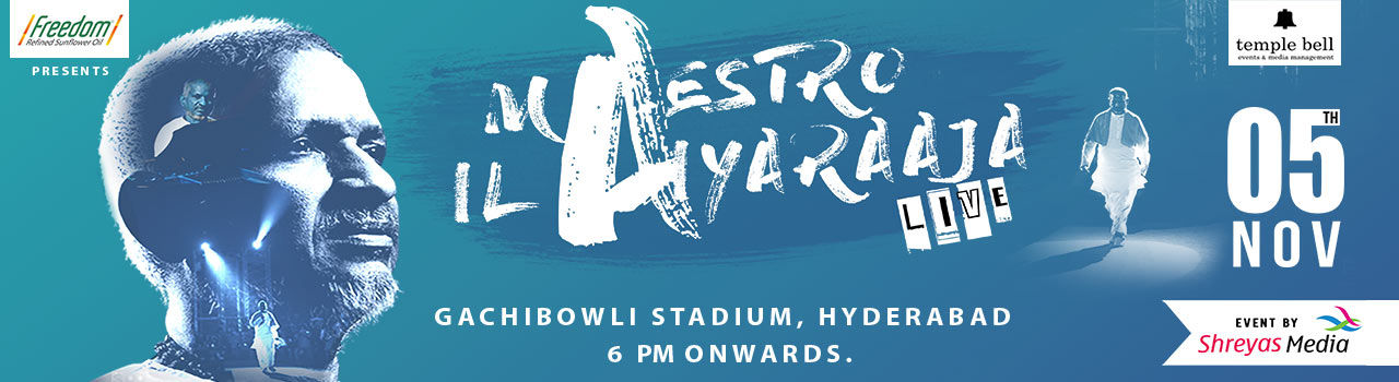 Ilaiyaraaja - Live In Hyderabad in Gachibowli Stadium: Hyderabad