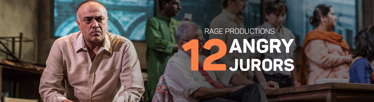 Rage Productions Twelve Angry Jurors in Prithvi Theatre