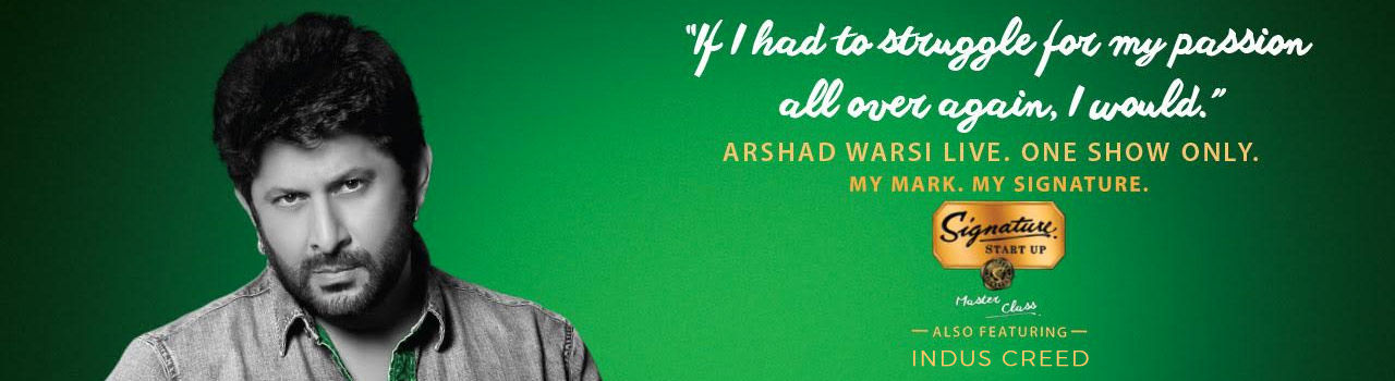 Signature Start-up Master Class Season 2 With Arshad Warsi in High Ultra Lounge: Malleshwaram