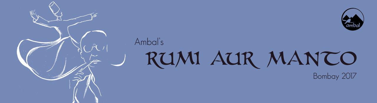 Ambal Production Presents: Rumi Aur Manto in The Cuckoo Club: Bandra