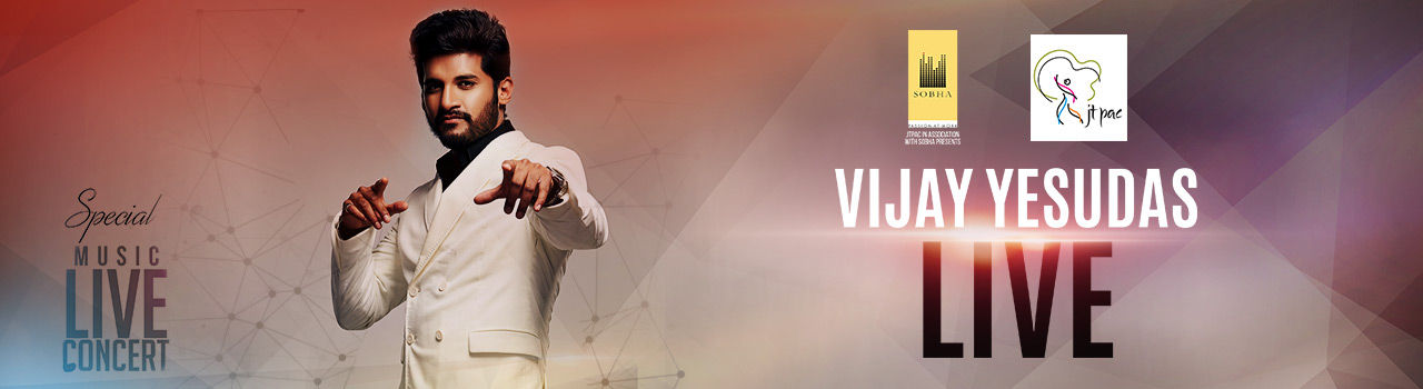 JTPAC Presents Vijay Yesudas Live in JT Performing Arts Centre: Kochi