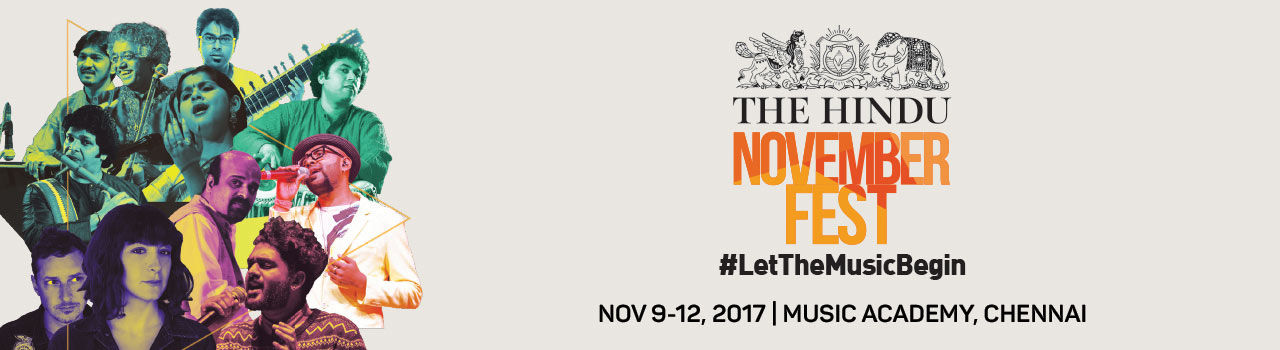 The Hindu November Fest 2017 - Tower of Song (Chennai) in The Music Academy: Chennai