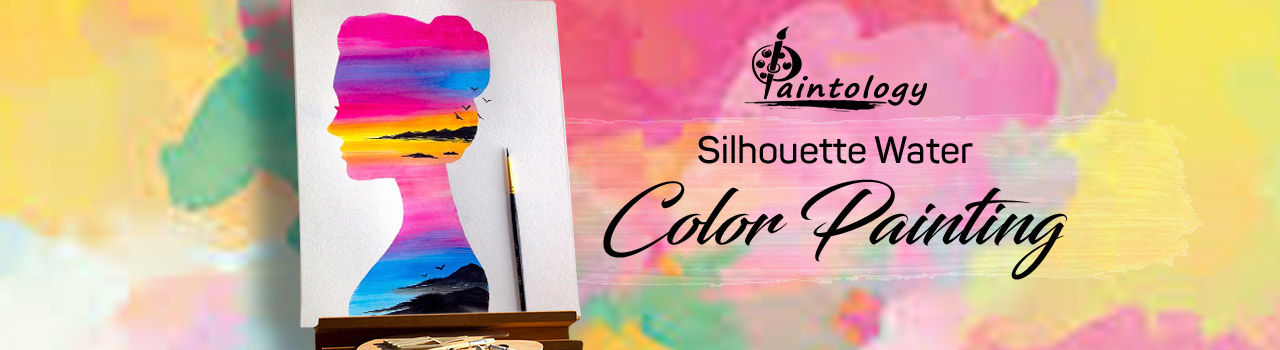 A Silhouette Watercolor Painting Party in Doolally Taproom - Khar: Mumbai
