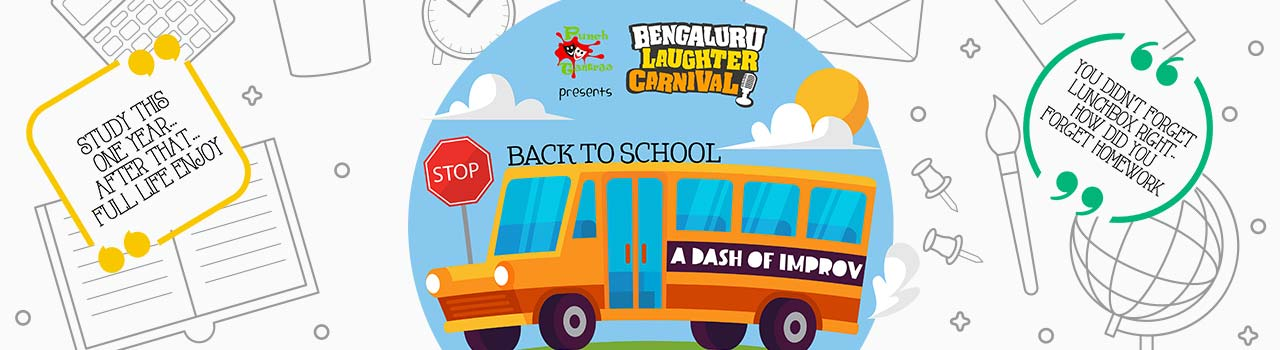 Bengaluru Laughter Carnival - A Dash of Improv by Punchtantraa in Rangasthala Auditorium: Bengaluru