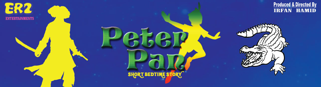 Peter Pan - Short Bedtime Story in Canvas Laugh Club