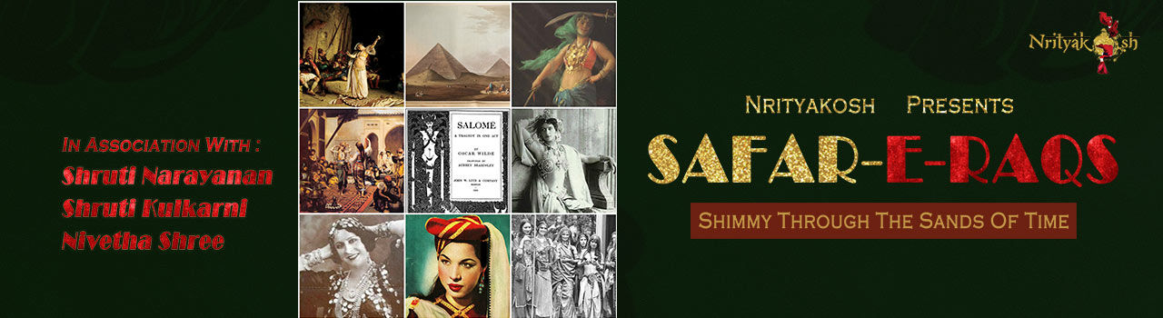 Safar-E-Raqs - Shimmy through the Sands of Time in Alliance Francaise: Bengaluru