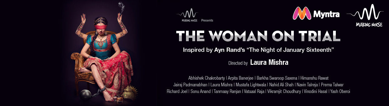 The Woman On Trial in St. Andrews Auditorium: Mumbai