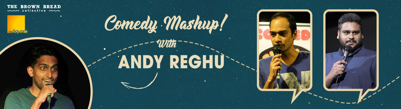 Comedy Mashup! With Andy Reghu in The Culture Studio: Mumbai