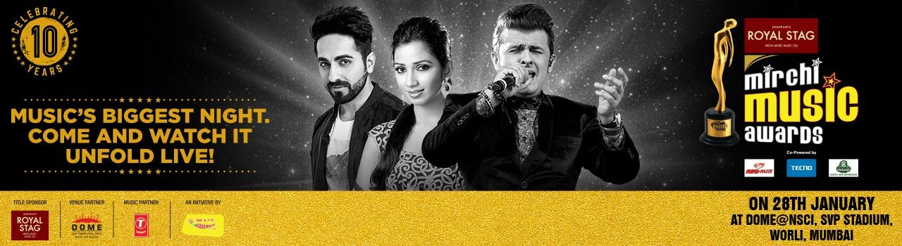 10th Royal Stag Mirchi Music Awards