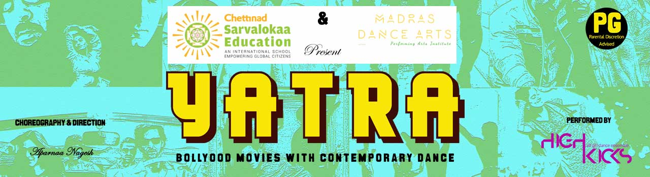Yatra - Bollywood Movies with Contemporary Dance in The Music Academy: Chennai