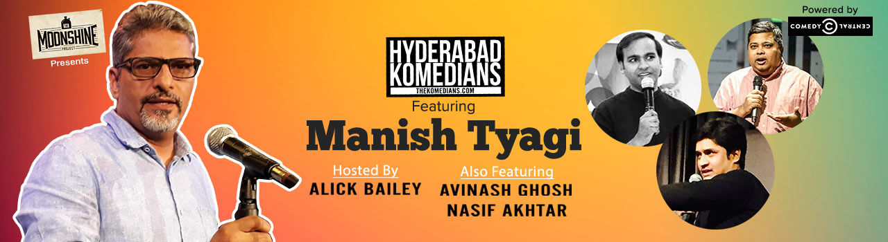 Hyderabad Komedians Feat. Manish Tyagi. in The Moonshine Project: Hyderabad