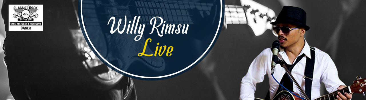 Willy Rimsu Live in Classic Rock Coffee Co: Baner, Pune