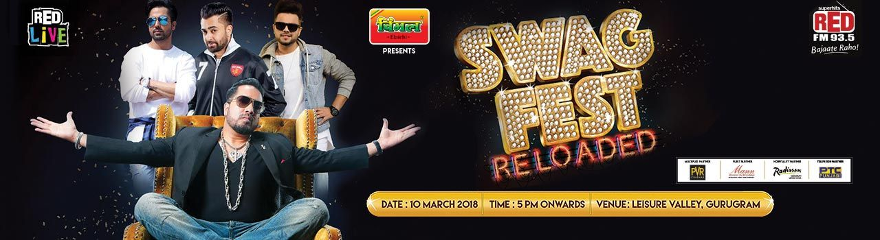 Red Live Presents Swag Fest Reloaded With Mika, Sharry Mann, Harrdy Sandhu & Akhil in Leisure Valley Ground: Gurgaon