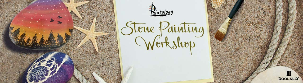 A Stone Painting Workshop in Doolally Taproom: Andheri, Mumbai
