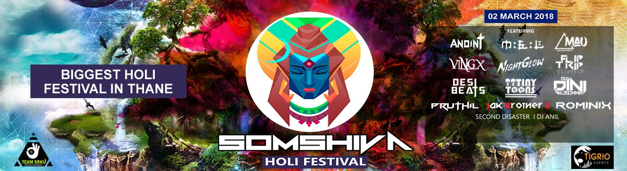 Somshiva Colour Festival in DK Lawns: Mumbai