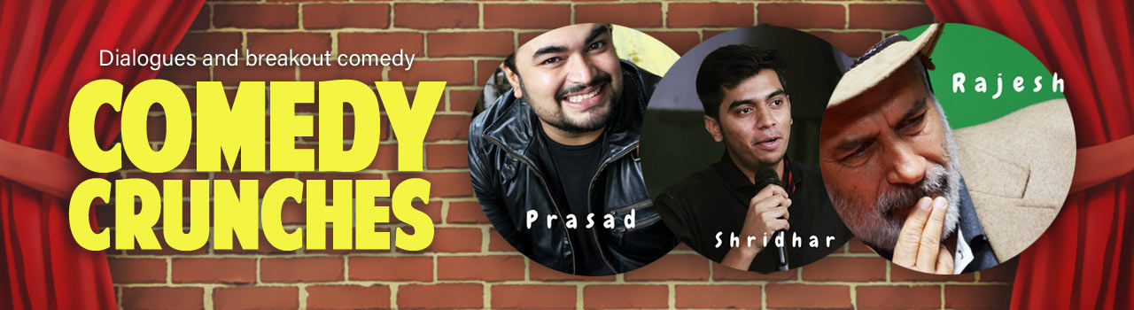 Comedy Crunches in Dialogues Cafe, Koramangala: Bengaluru