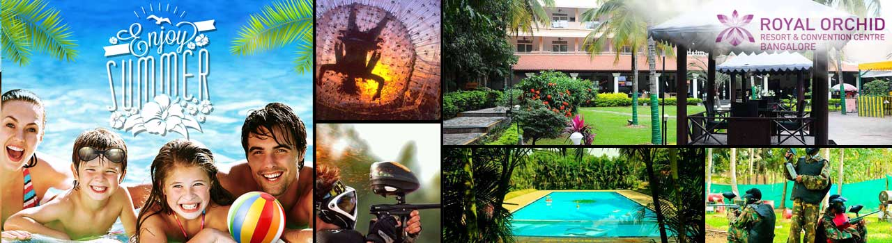 Enjoy Summer at Royal Orchid Resort  in Royal Orchid Resort & Convention Centre: Bengaluru