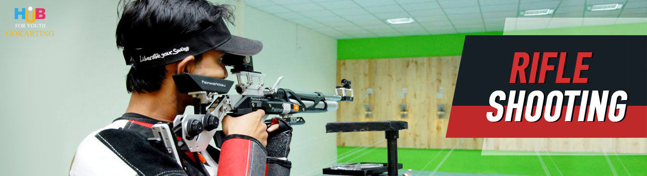 Rifle Shooting  in Hub For Youth: Visakhapatnam