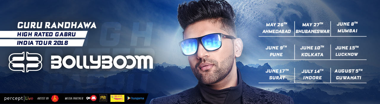 Bollyboom: Guru Randhawa Tour in Venue To Be Announced: Guwahati