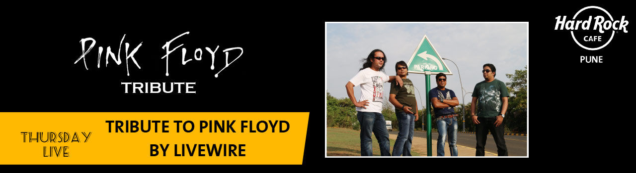 Pink Floyd Tribute by Livewire (Pune) in Hard Rock Cafe: Pune