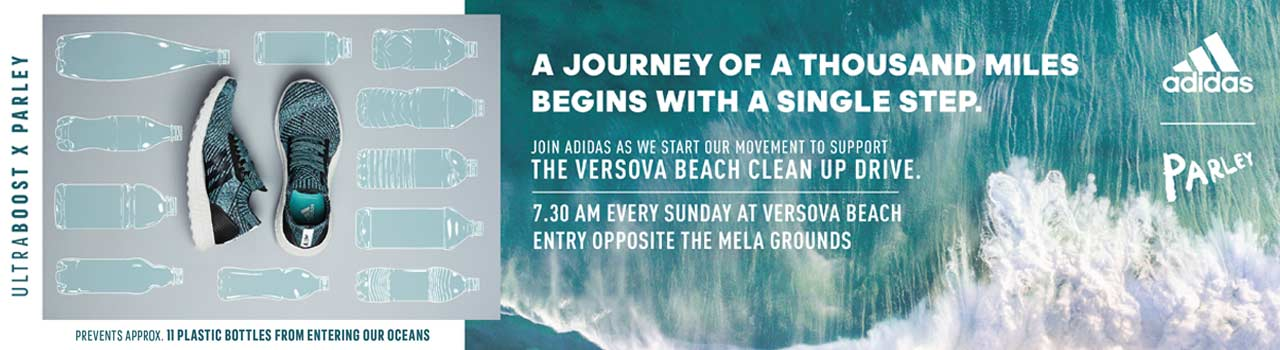 Versova Beach Clean-Up Project in Versova Beach: Andheri