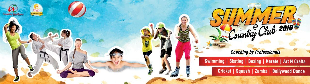 Summer Camp in Country Club: Begumpet