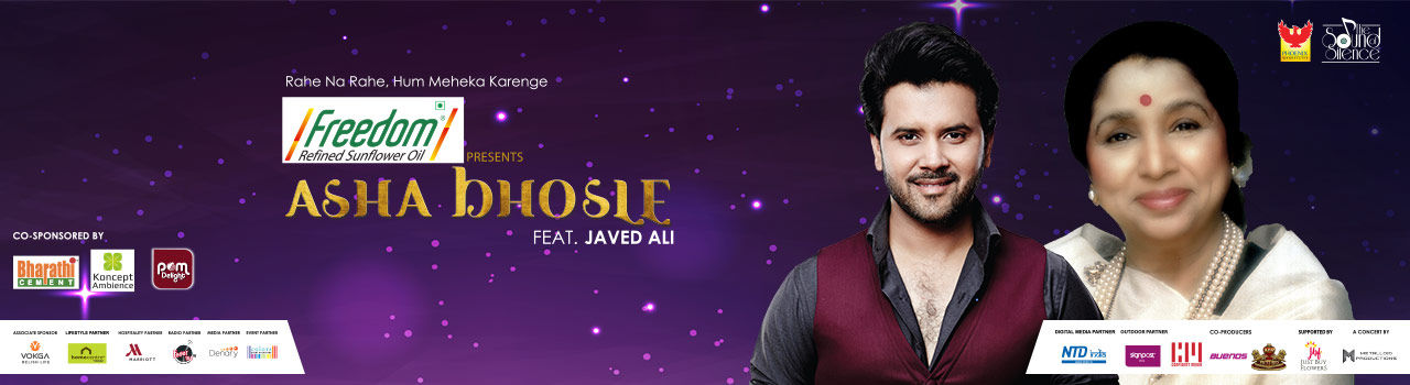 Asha Bhosle Live with Javed Ali - Sound of Silence in Phoenix Market City: Whitefield