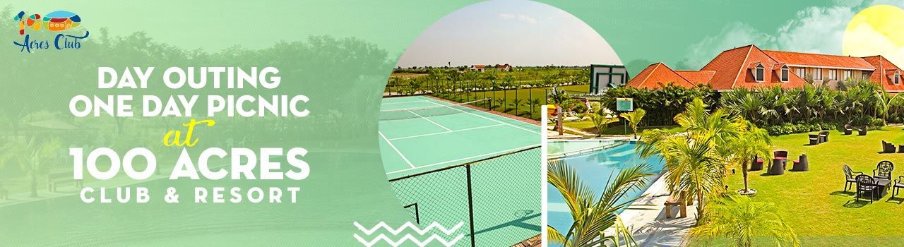 Day Outing: One Day Picnic at 100 Acres Club & Resort  in 100 Acres Club: Gujarat