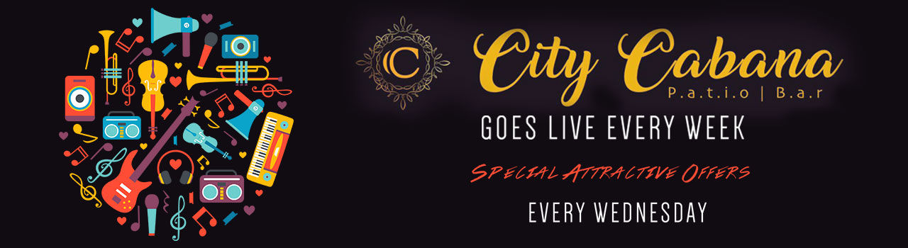Wednesday Night at City Cabana Live Music Patio Bar in City Cabana, Patio Bar: Chandigarh