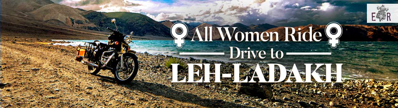 All Women Ride/ Drive To Leh - Ladakh in Kushok Bakula Rimpochee Airport: Leh